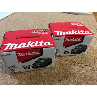 マキタ(Makita)の新品 マキタ純正バッテリー 18V 3.0Ah BL1830B(バッテリー/充電器)