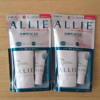 アリィー(ALLIE)のアリィー エクストラUVジェル 2袋セット(日焼け止め/サンオイル)