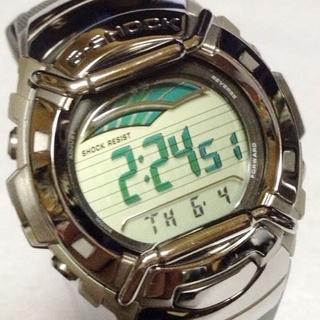 ジーショック(G-SHOCK)のデュプレックスLCディスプレイグリーン液晶!G-3300-8JF G-SHOCK(腕時計(デジタル))