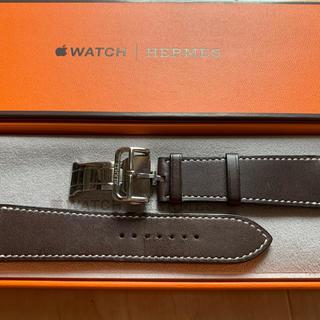 エルメス(Hermes)のHERMES Apple Watch ディプロイバックル シンプルトゥール(レザーベルト)