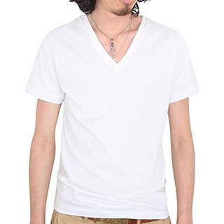 ダブルジェーケー(wjk)のwjk 1mile/半袖VネックTシャツ(Tシャツ/カットソー(半袖/袖なし))