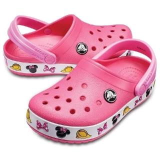 crocs - 新品 crocs クロックス c9 16.5cm ディズニー ミニーマウス