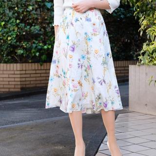 STRAWBERRY-FIELDS - ボタニカルスカート フラワースカート
