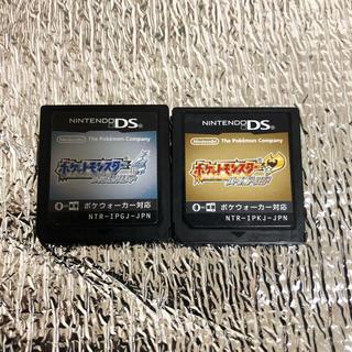 ニンテンドーDS(ニンテンドーDS)のポケットモンスター ソウルシルバー ハートゴールド ポケモン ds ソフト(携帯用ゲームソフト)