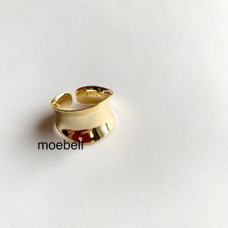 ワイドプレートリング(リング(指輪))