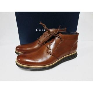 コールハーン(Cole Haan)のCOLE HAAN ORIGINAL GRAND CHKA ブラウン 8.5(ブーツ)