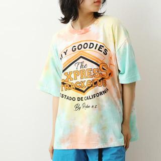 ロデオクラウンズワイドボウル(RODEO CROWNS WIDE BOWL)のタイダイTシャツ RODEO CROWNS(Tシャツ(半袖/袖なし))