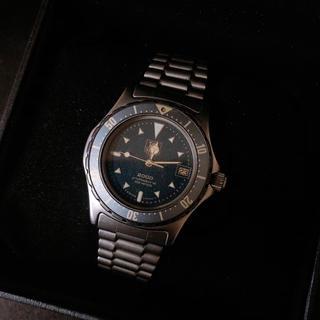 タグホイヤー(TAG Heuer)のTag Heuer 代表モデル 2000 腕時計(腕時計(アナログ))