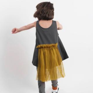 ボボチョース(bobo chose)のWOLF&RITA ウルフアンドリタ チュール付タンクトップ 新品(Tシャツ/カットソー)