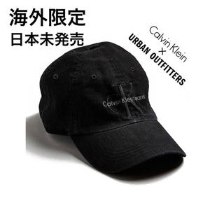 カルバンクライン(Calvin Klein)の☆【Calvin Klein×UO】海外限定 レア キャップ 黒(キャップ)