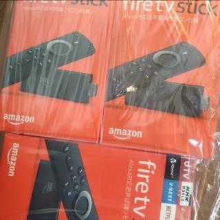 Amazon Fire TV Stick 第2世代 音声認識 3つセット