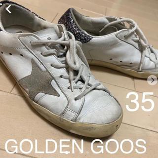 ゴールデングース(GOLDEN GOOSE)の【95%オフ!】ゴールデングース ピンクラメスニーカー(スニーカー)