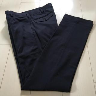 ムジルシリョウヒン(MUJI (無印良品))の無印良品メンズソフトスラックス76 × 85薄めの黒(スラックス)
