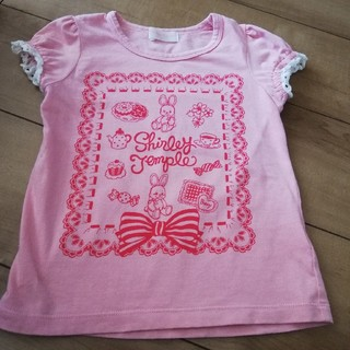 Shirley Temple - シャーリーテンプル うさぎTシャツ110