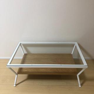 フランフラン(Francfranc)のフランフラン ガラステーブル メリオル Francfranc コーヒーテーブル(ローテーブル)