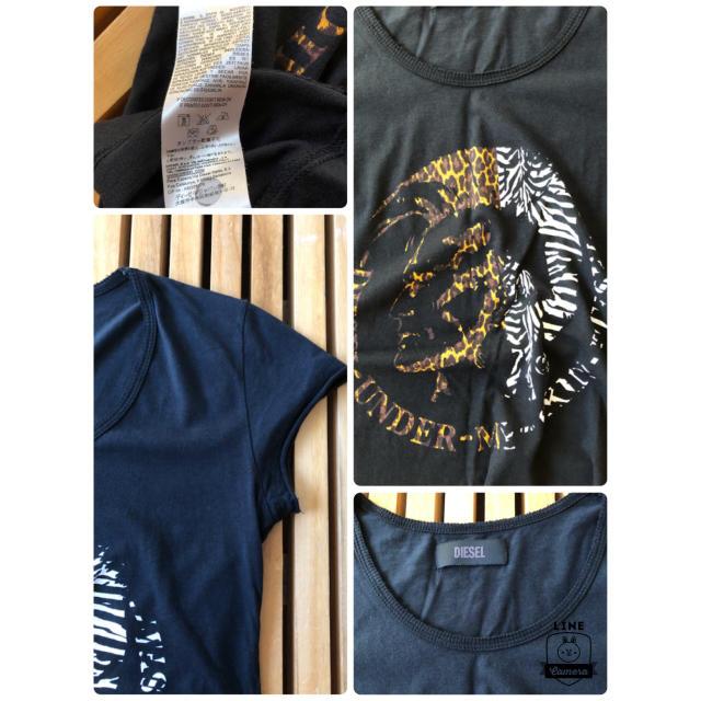 DIESEL(ディーゼル)の値下げ!DIESEL  デザインかっこいいTシャツ❤️ レディースのトップス(Tシャツ(半袖/袖なし))の商品写真