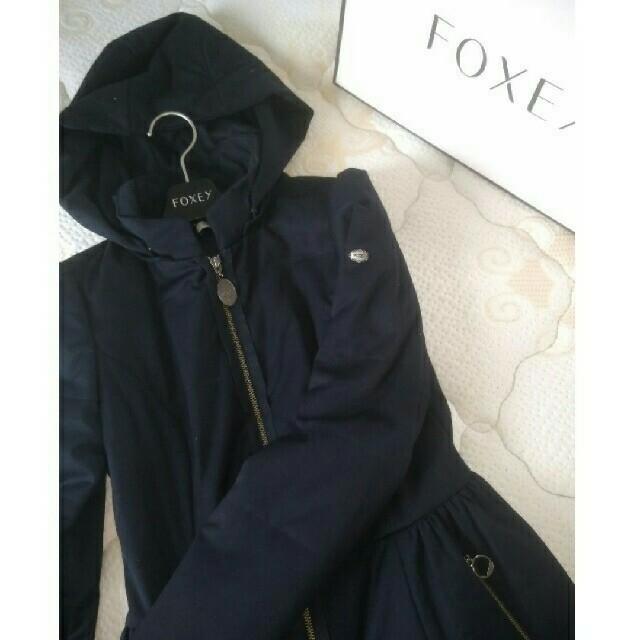 FOXEY(フォクシー)のレイナさまご予約済み♡秋冬に…美品フォクシー中綿ロングコート レディースのジャケット/アウター(ロングコート)の商品写真