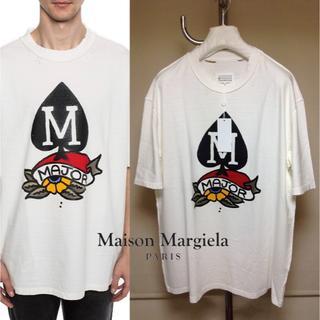Maison Martin Margiela - 新品■52■19ss マルジェラ■Mロゴ デストロイ Tシャツ■9068