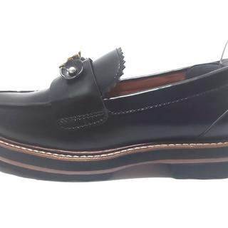 コーチ(COACH)のコーチ ローファー 5.5C レディース美品  -(ローファー/革靴)