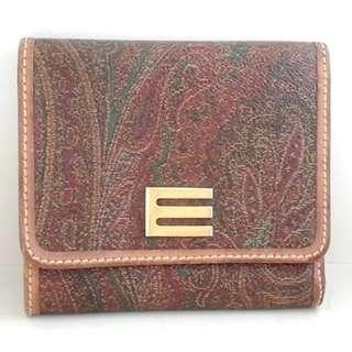 エトロ(ETRO)のETRO(エトロ) 3つ折り財布 - ペイズリー柄(財布)