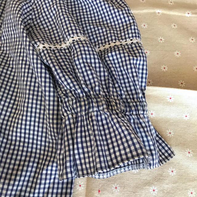 EDIT.FOR LULU(エディットフォールル)の夏物 SALE  EU vintage チェックブラウス レディースのトップス(シャツ/ブラウス(半袖/袖なし))の商品写真