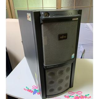 フジツウ(富士通)の富士通・サーバー!PRIMERGY TX150S5(デスクトップ型PC)