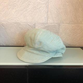 ドゥーズィエムクラス(DEUXIEME CLASSE)のLola  キャスケット 帽子 デニム生地(キャスケット)