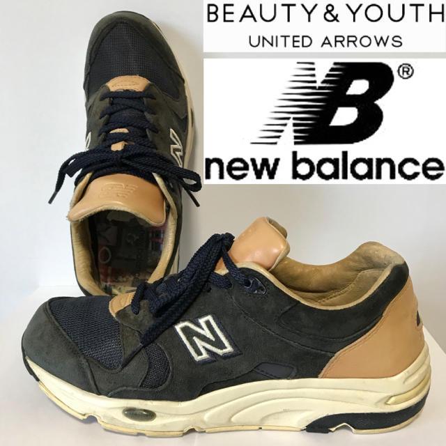 New Balance(ニューバランス)の希少!ニューバランス×BYユナイテッドアローズ 1700 コラボ限定モデル メンズの靴/シューズ(スニーカー)の商品写真