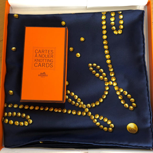 Hermes(エルメス)のHERMES スカーフ レディースのファッション小物(バンダナ/スカーフ)の商品写真