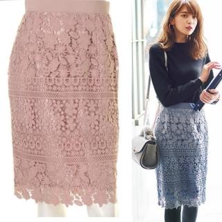 Apuweiser-riche - アプ♡切替レースタイトスカート