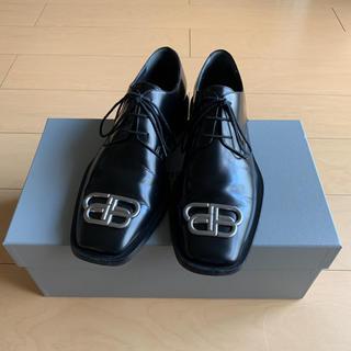 Balenciaga - BALENCIAGA バレンシアガ 革靴 シューズ BB リム ダービー