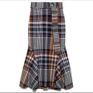 snidel - スナイデル❤︎ チェック マーメイド  スカート