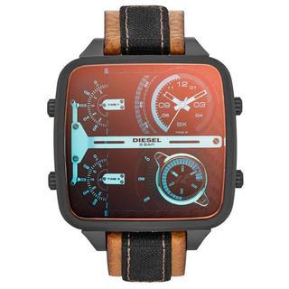 ディーゼル(DIESEL)の美品 DIESEL DZ-7285 Mr. Daddy メンズ腕時計 ディーゼル(腕時計(アナログ))