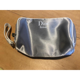 Dior - Dior Parfums  化粧 メイク ポーチ ブラシ シルバーグレー