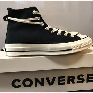 CONVERSE - FOG × converse chuck 70 HI 28.5cm BLACK黒