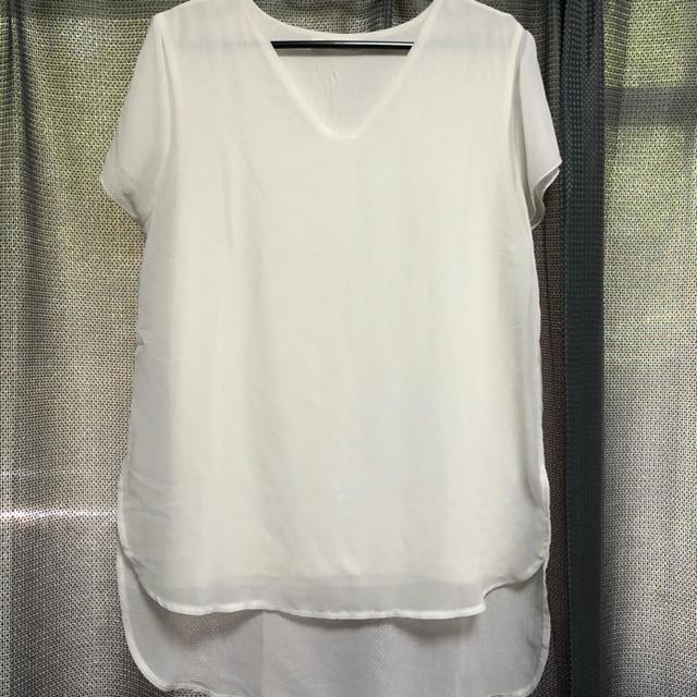 moussy(マウジー)の【MOUSSY】ブラウス レディースのトップス(シャツ/ブラウス(半袖/袖なし))の商品写真