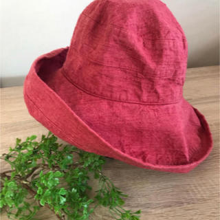 ネストローブ(nest Robe)のリーノエリーナ  Lino e Lina  サルビア 帽子 ハット リネン(ハット)