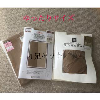 アツギ(Atsugi)のストッキング4足セット(タイツ/ストッキング)
