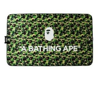 アベイシングエイプ(A BATHING APE)の激レア A BATHING APE ABC CAMO PICNIC SHEET(ラグ)