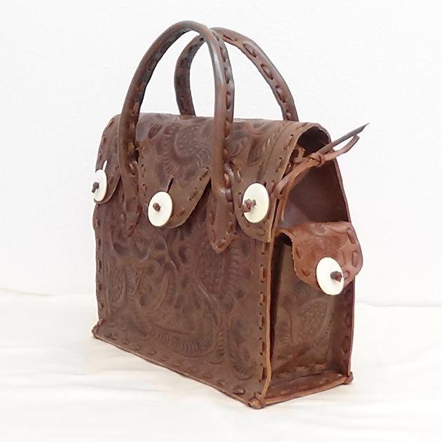 GRACE CONTINENTAL(グレースコンチネンタル)のグレース コンチネンタル カービングバッグ  美品です レディースのバッグ(ハンドバッグ)の商品写真