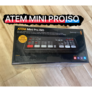 [新品]Blackmagicdesign ATEM Mini Pro ISO