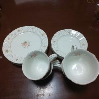 ニッコー(NIKKO)のニッコー  コーヒーカップ  ケーキ皿  セット(食器)