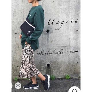 Ungrid - Ungrid Championビッグルーズスウェット チャンピオン レイヤード