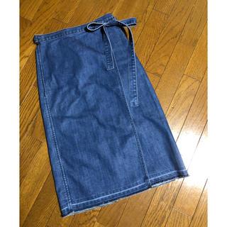 ロンハーマン(Ron Herman)のロンハーマン RonHerman 巻きスカート ラップスカート デニム XS(ひざ丈スカート)