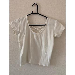 GYDA - GYDA 2WAYバインダーTシャツ ホワイト