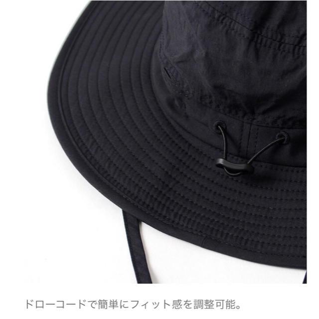 THE NORTH FACE(ザノースフェイス)のXL ノースフェイス ホライズンハット 黒 メンズの帽子(ハット)の商品写真