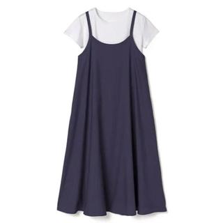 GRL - GRL キャミワンピースXTシャツセット ネイビー