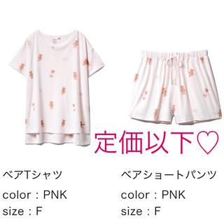 gelato pique - ジェラートピケ♡ベアTシャツ&ベアショートパンツ
