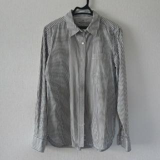 ムジルシリョウヒン(MUJI (無印良品))のストライプシャツ(シャツ/ブラウス(長袖/七分))