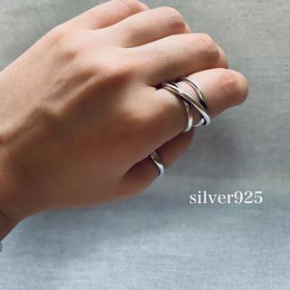トゥデイフル(TODAYFUL)のsilver925  重ねリング(リング(指輪))